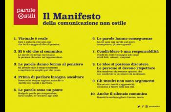 Manifesto parole Ostili