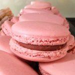 macarons rosa