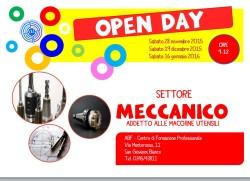 Open day meccanico