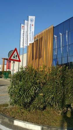 Nuova sede ABF settore falegnameria presso Tino sana